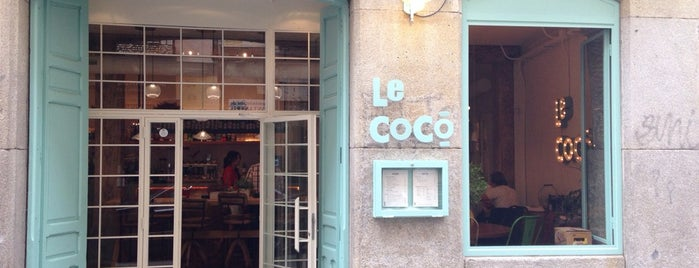 le cocó is one of Salir en Madrid.