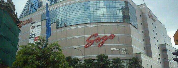 KL SOGO is one of My favorites for Malls.