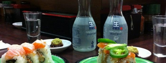 Kula Revolving Sushi Bar is one of Cali.