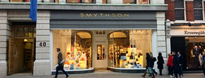 Smythson is one of Monocle 25/25.
