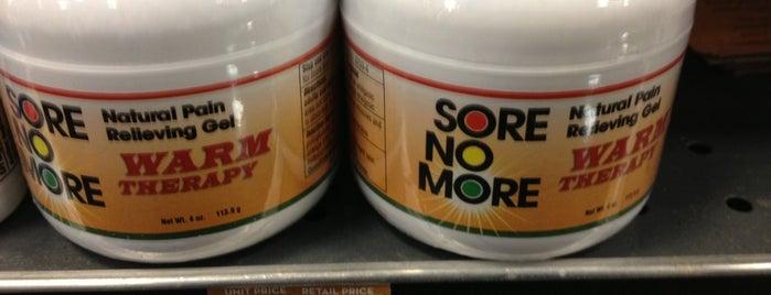 Sprouts Farmers Market is one of Places you can buy SORE NO MORE in ALBUQUERQUE, NM.