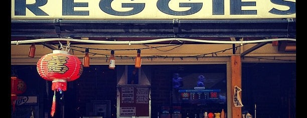Reggie's Trainwreck Rooftop Deck is one of Official Blackhawks Bars.