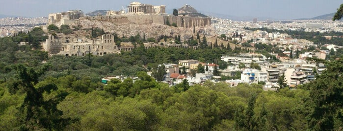 Philopappos Hill is one of Athens Down Town.