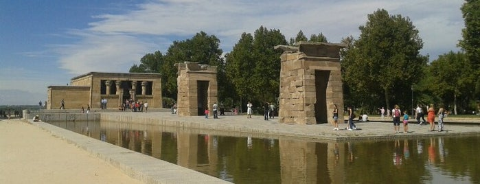 Templo de Debod is one of Dieter's favourite spots in Madrid.