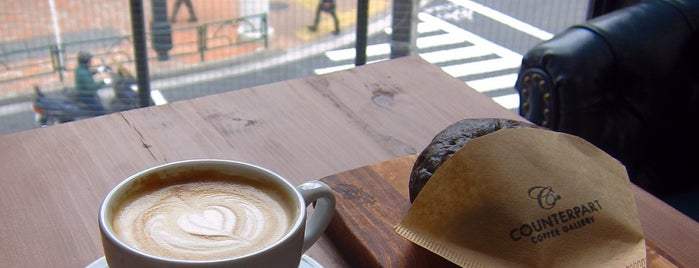 Counterpart Coffee Gallery is one of free Wi-Fi in 渋谷区.