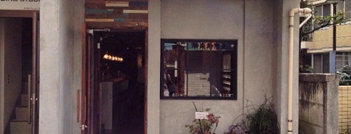 Cafe & Bar 鳩ノ森 is one of free Wi-Fi in 渋谷区.