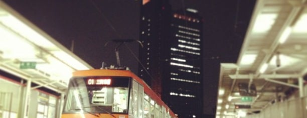 Nishi-taishidō Station (SG02) is one of 東急世田谷線.
