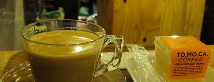 TO.MO.CA. COFFEE (トモカコーヒー) is one of free Wi-Fi in 渋谷区.