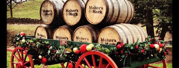 Maker's Mark Distillery is one of Kentucky Bourbon Trail.