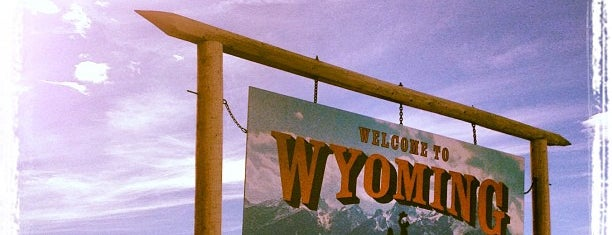 Wyoming/Montana Border is one of Places I've Been..