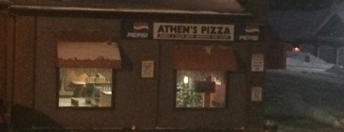 Athens Pizza is one of Local places.
