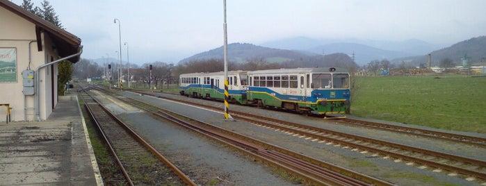 Železniční stanice Petrov nad Desnou is one of Železniční stanice ČR: P (9/14).