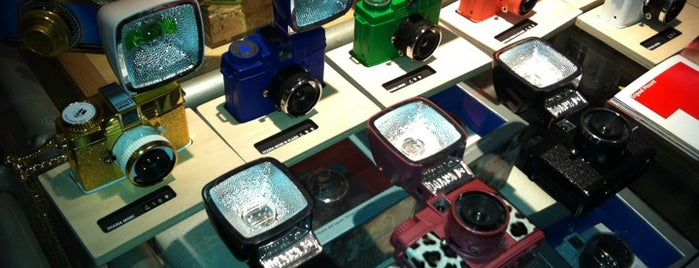 Lomography Gallery Store is one of London.
