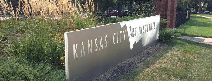 Kansas City Art Institute is one of I been here !.