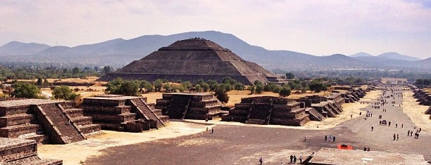 Zona Arqueológica de Teotihuacán is one of [To-do] DF.