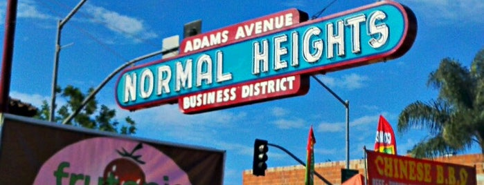 Normal Heights is one of San Diego To-Do List.