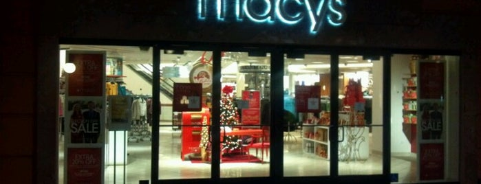 Macy's is one of My favorites for Department Stores.