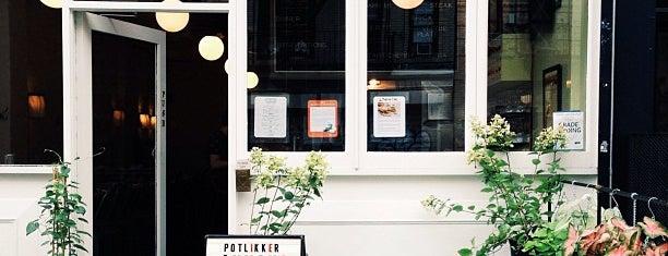 Potlikker is one of Michelin Guide 2013 - Brooklyn.