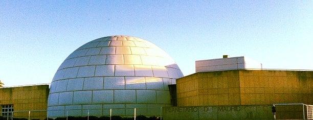 Planetario de Madrid is one of Perderse por Madrid.