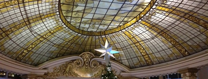 The Rotunda at Neiman Marcus is one of SF Favorites.