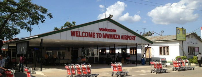 Mwanza International Airport (MWZ) is one of Airports.