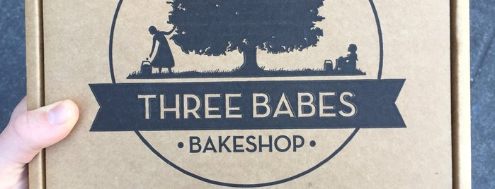 Three Babes Bakeshop is one of SF Eats to Try.