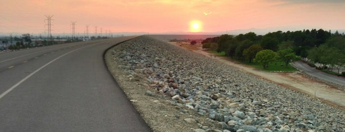 Santa Fe Dam Bike Trail is one of Cool things to see and do in Los Angeles.
