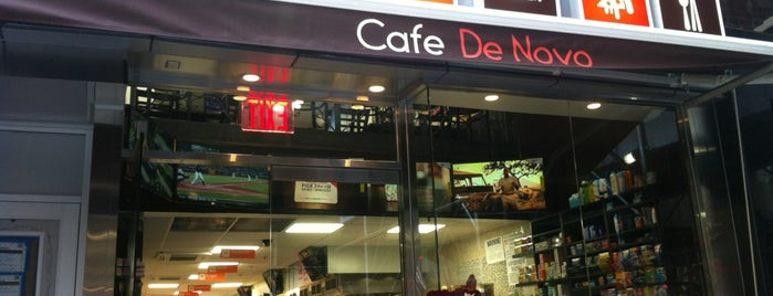Cafe De Novo is one of NYC: FiDi Luncher.