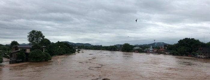 แม่น้ำน่าน is one of ลำพูน, ลำปาง, แพร่, น่าน, อุตรดิตถ์.