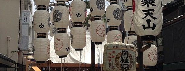 白楽天山 is one of Sanpo in Gion Matsuri.