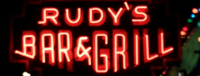 Rudy's Bar & Grill is one of The Hell's Kitchen List by Urban Compass.