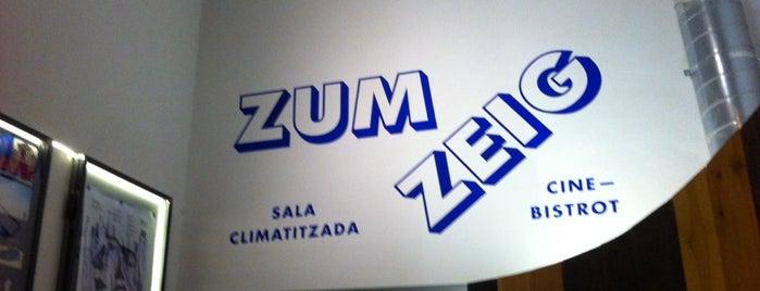 Zumzeig Cinema is one of Barcelona Moderna.