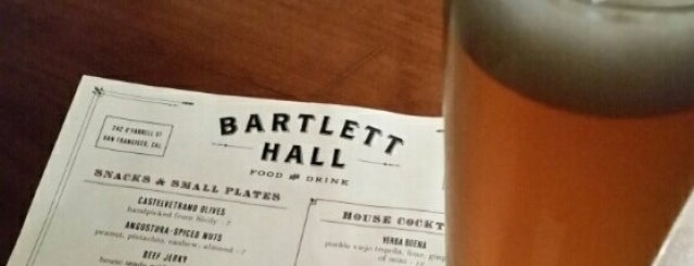 Bartlett Hall is one of SF Dining.