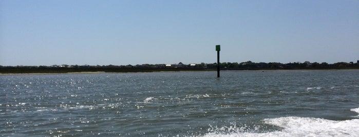 Intercoastal Waterway is one of Charleston, SC.