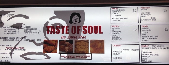 Taste Of Soul is one of Places to Eat.