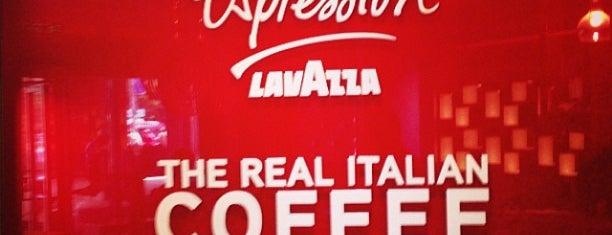 Lavazza Espression is one of поесть с семьёй в выходные.