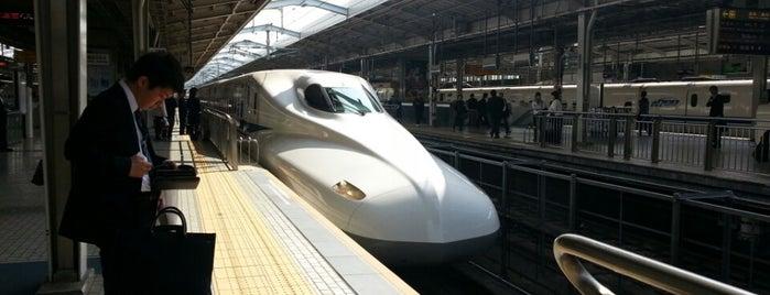JR新大阪駅 23-24番線ホーム is one of JR線の駅.