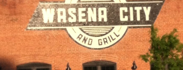 Wasena City Tap Room & Grill is one of original restaurants.