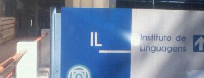 Instituto de Linguagens - IL - UFMT is one of ●.