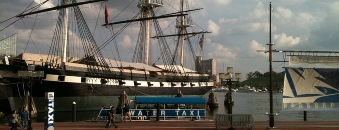 Baltimore Harbor is one of The Great Outdoors.