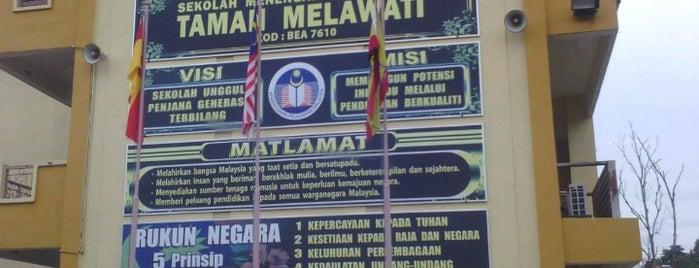SMK Taman Melawati is one of area rumah.