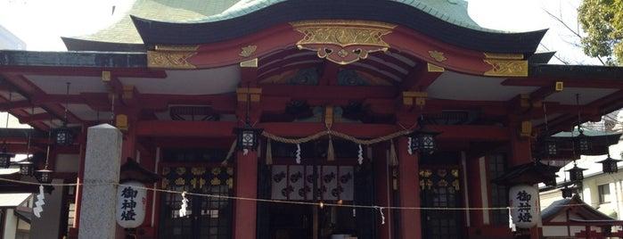 御霊神社 is one of Osaka.