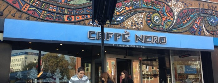 Caffé Nero is one of All-time favorites in Turkey.