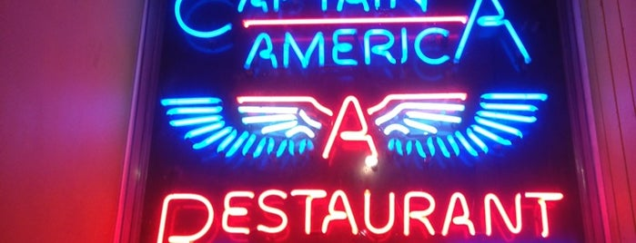 Captain Americas Cookhouse & Bar is one of Dublin Dining.