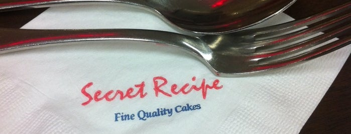 Secret Recipe is one of My makan places.