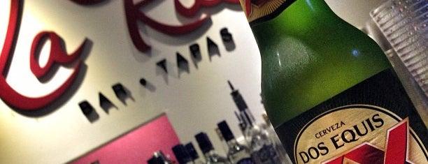 La Rue Bar y Tapas is one of Fave's.
