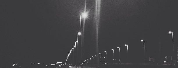 Deutz Suspension Bridge is one of Zvuk.