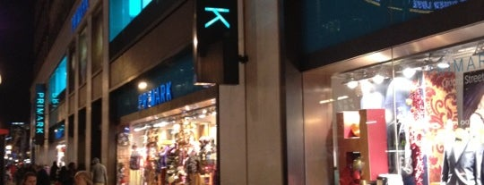 Primark is one of Londres.