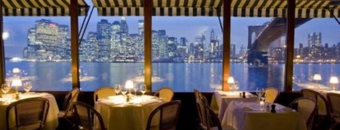 The River Café is one of Restaurants NYC.