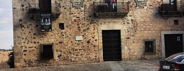 Casa de las Veletas is one of Descubriendo Cáceres.